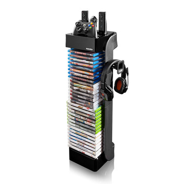 RT Controller Storage Tower with Headset Holder